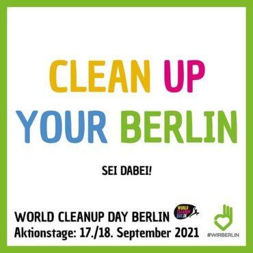 Clean up! Wir sind dabei.